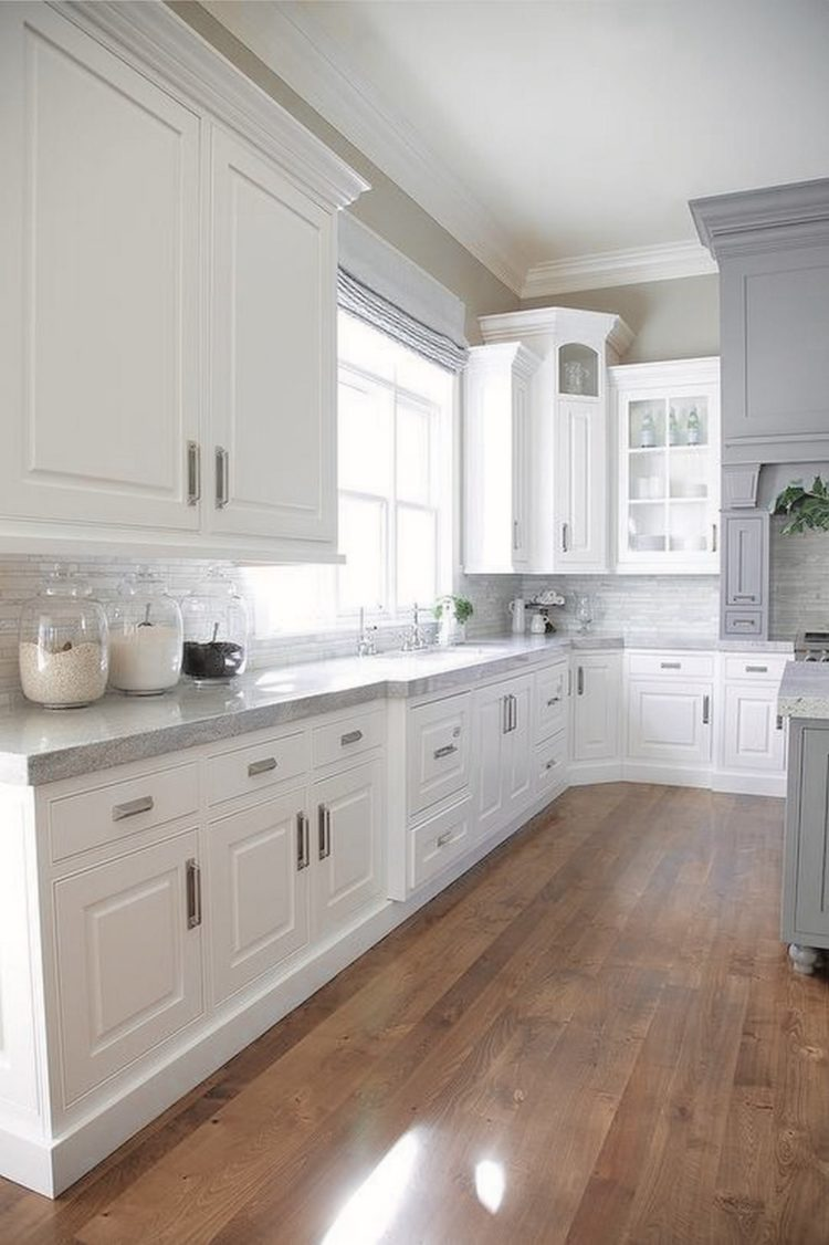 50+ Modern White Kitchen Cabinet Ideas for Stylish Home