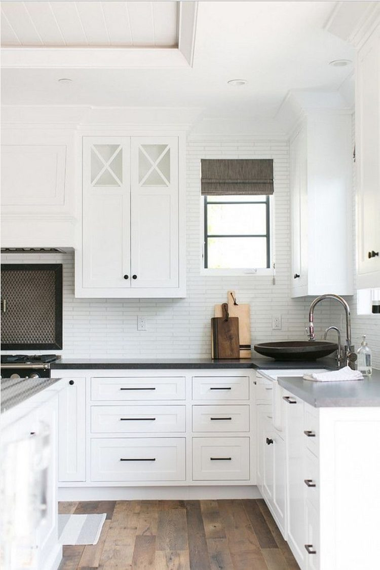 50 Modern White Kitchen Cabinet Ideas For Stylish Home