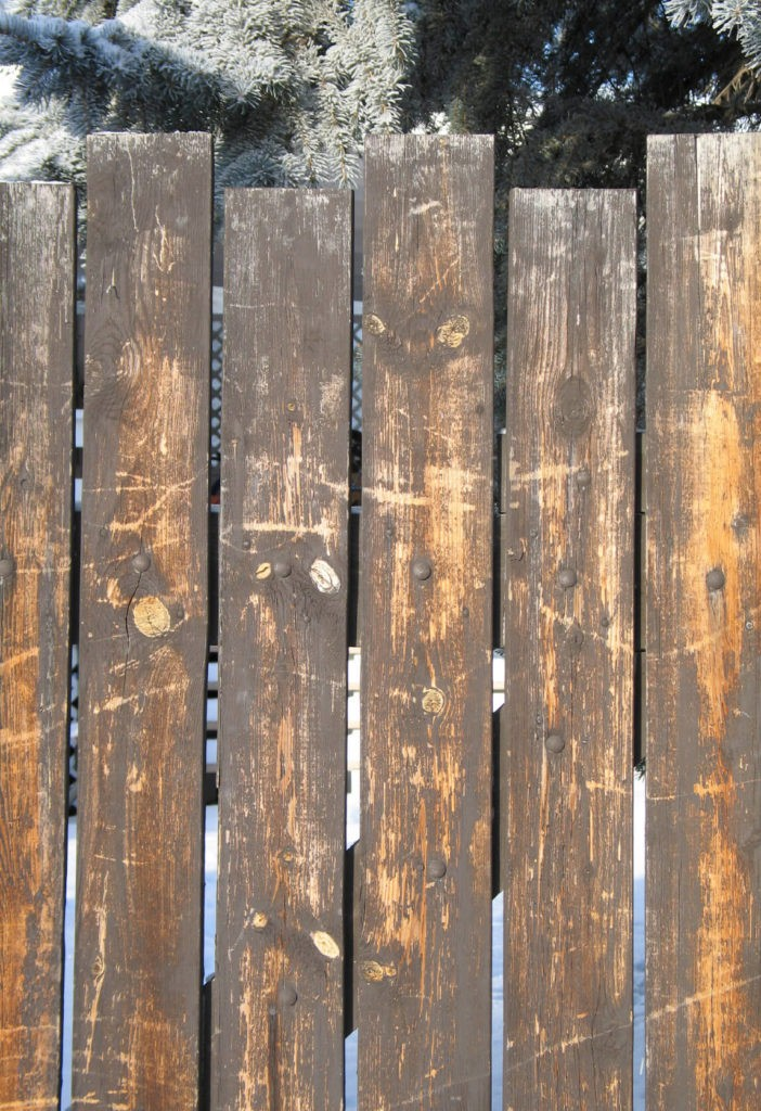 wood fence diy