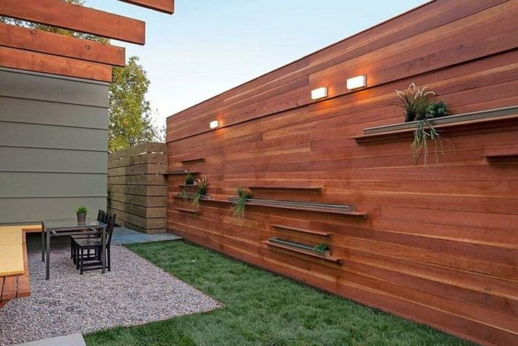 wood fence decorations