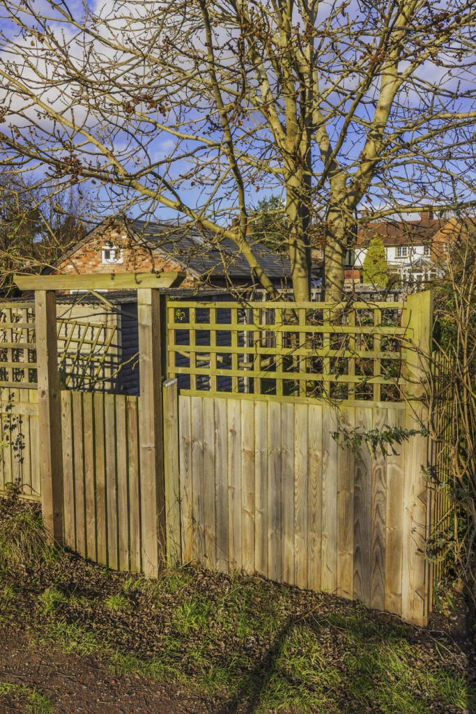 wood fence extension kits