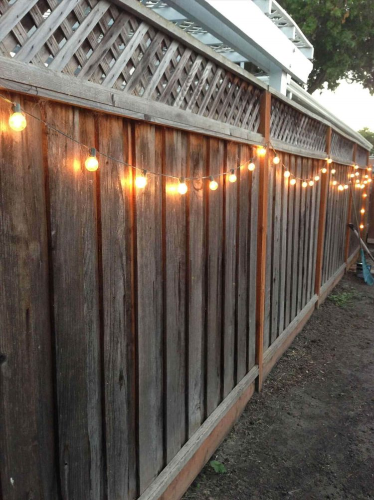 wood fence designs images