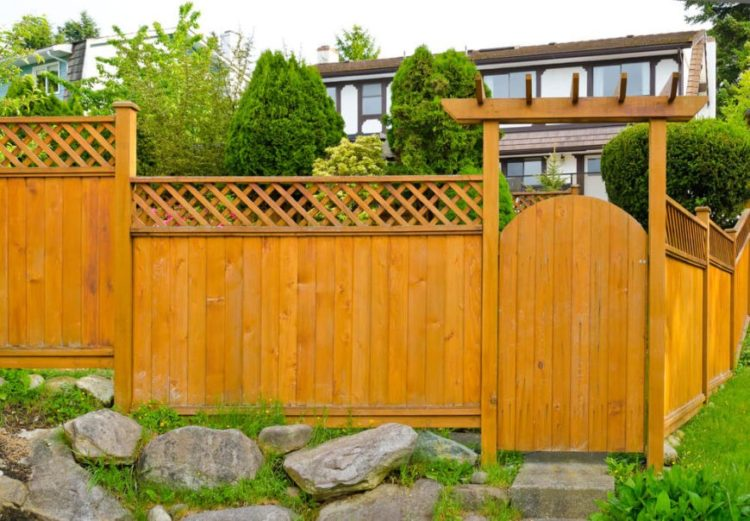 wood fence ideas pinterest