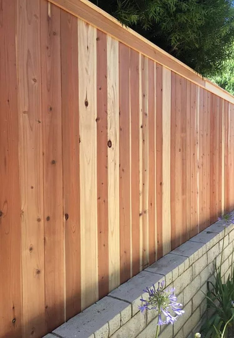 wood fence height extension kit