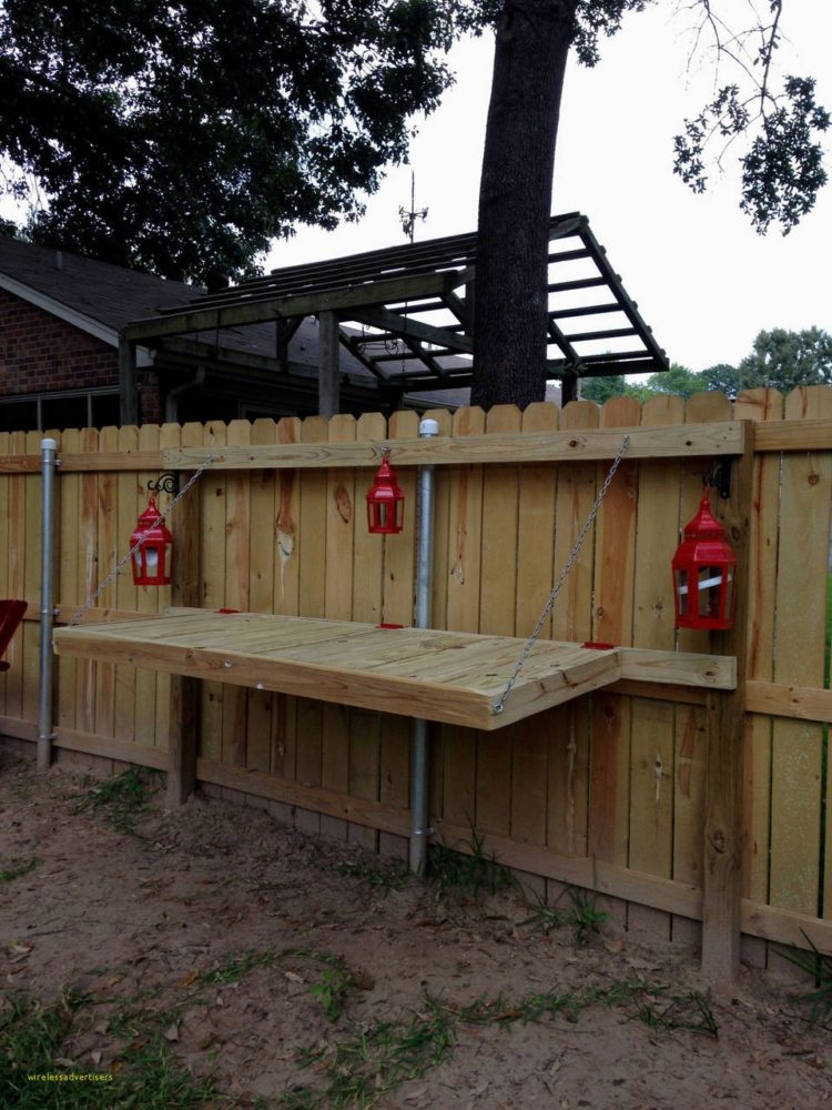 wood fence height