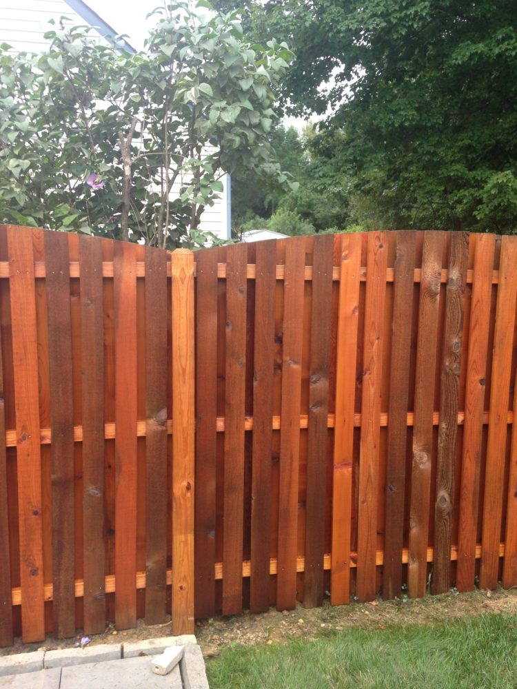 wood fence installation near me
