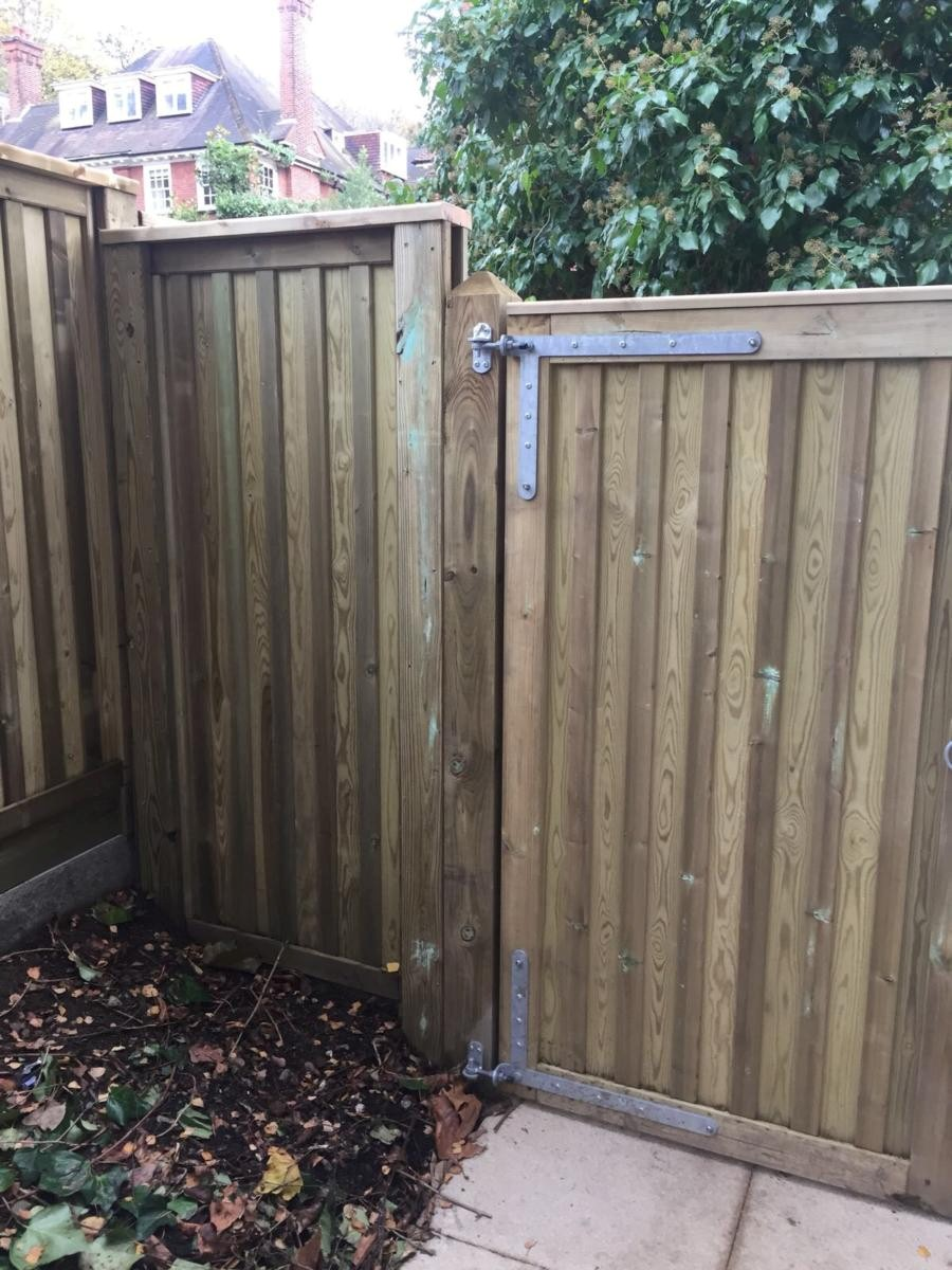 wooden fence panels exeter