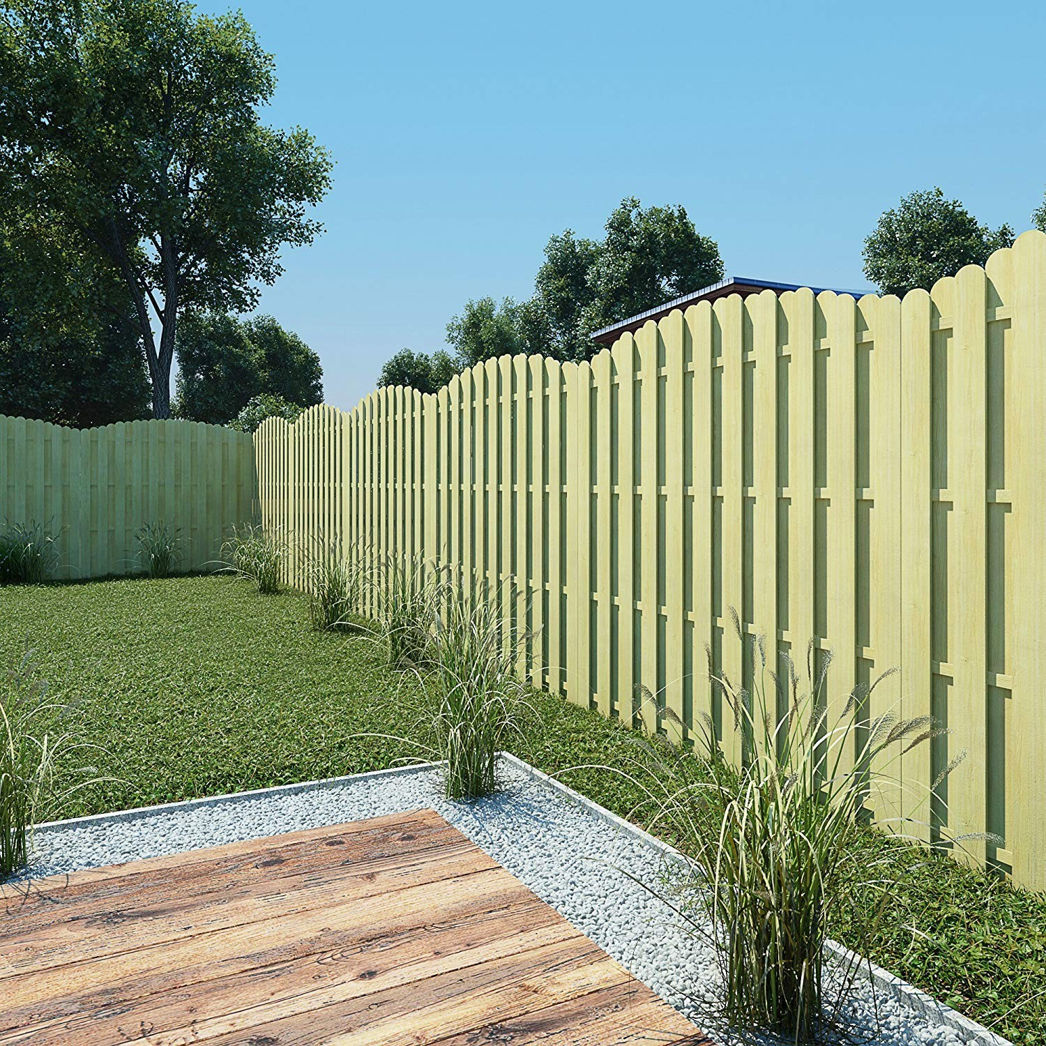 wooden fence panel extensions