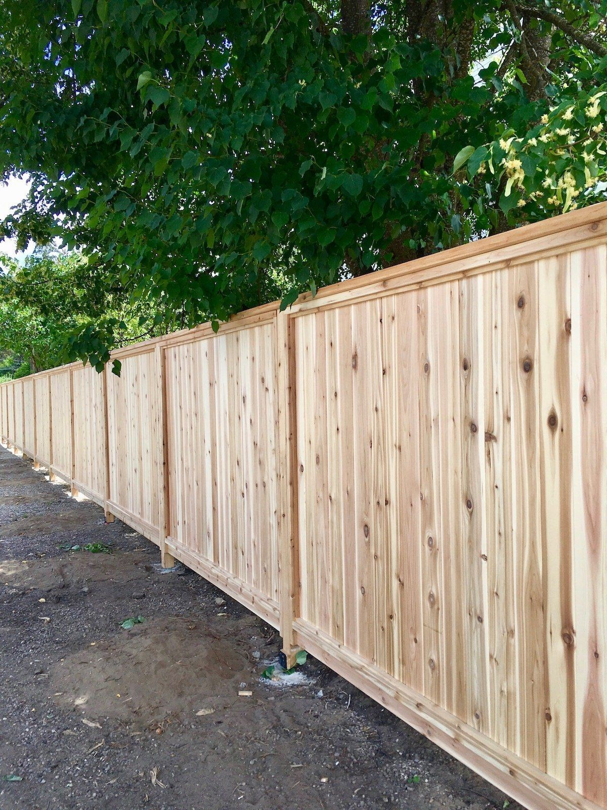 wood fence panels from home depot