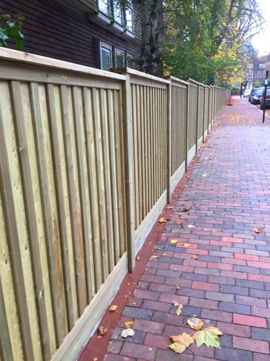 wood fence panels greenville sc