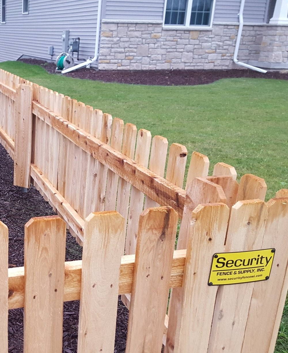 wooden fence panels home hardware