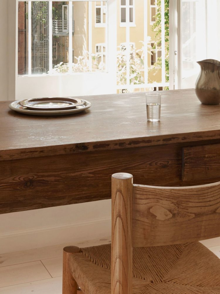 g plan cherry wood dining table