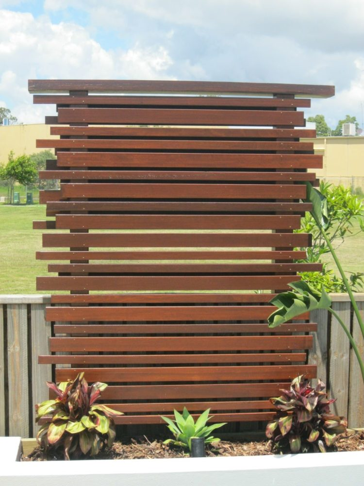 wooden fence panel ideas