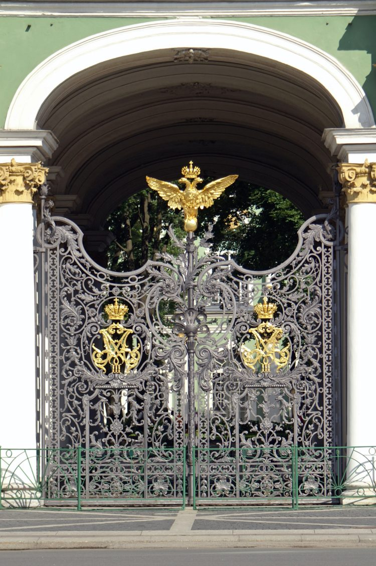 wrought iron fence materials
