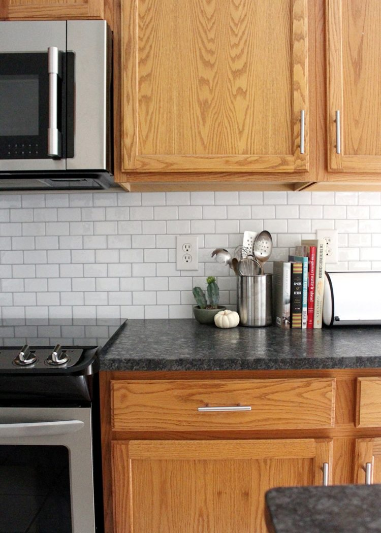subway tile backsplash dimensions