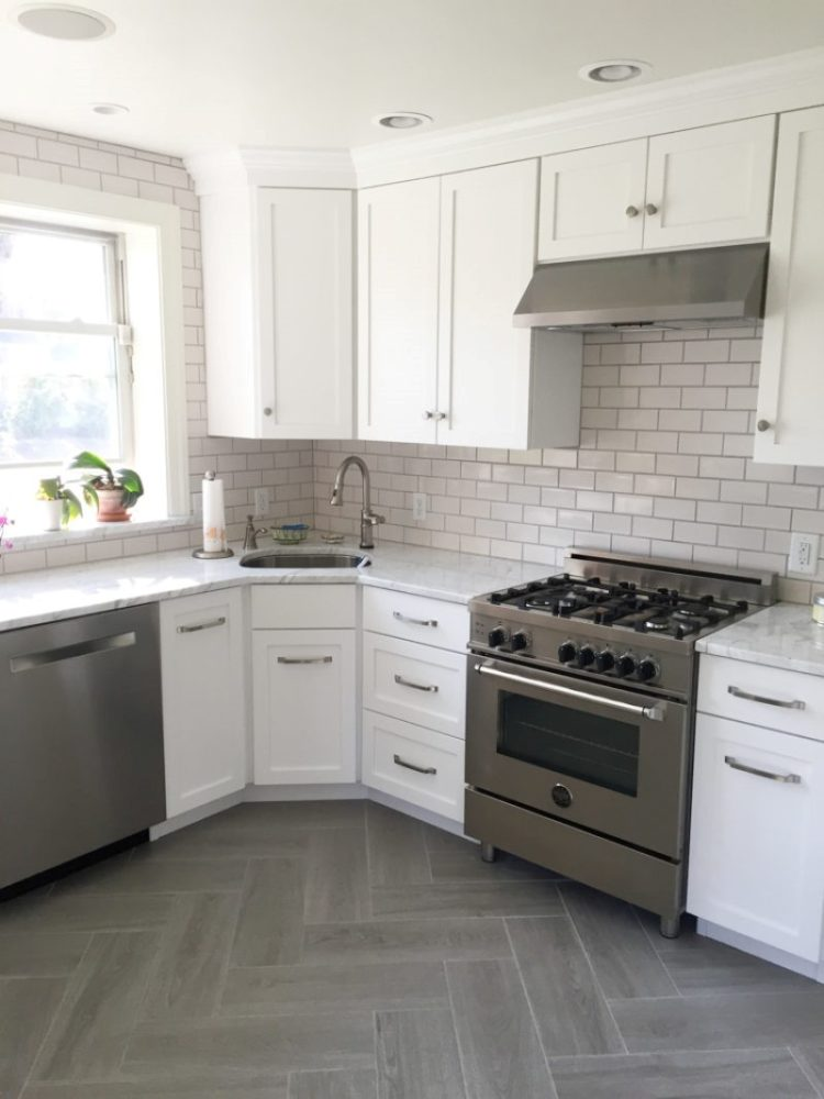 subway tile backsplash electrical outlets