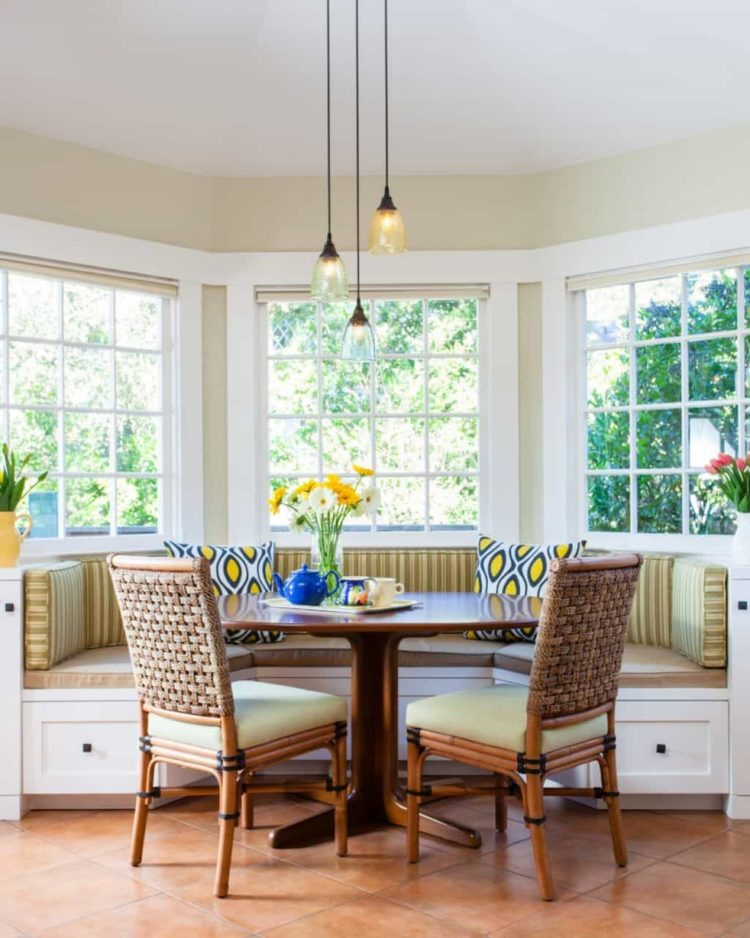 banquette corner bench seating