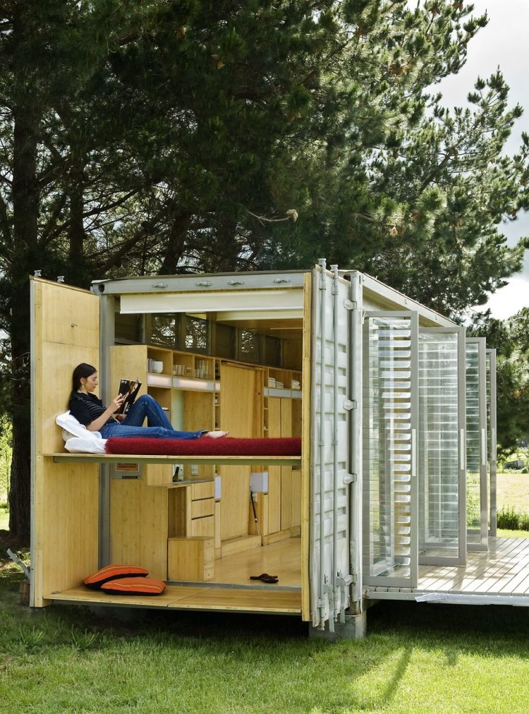 shipping container garage ideas