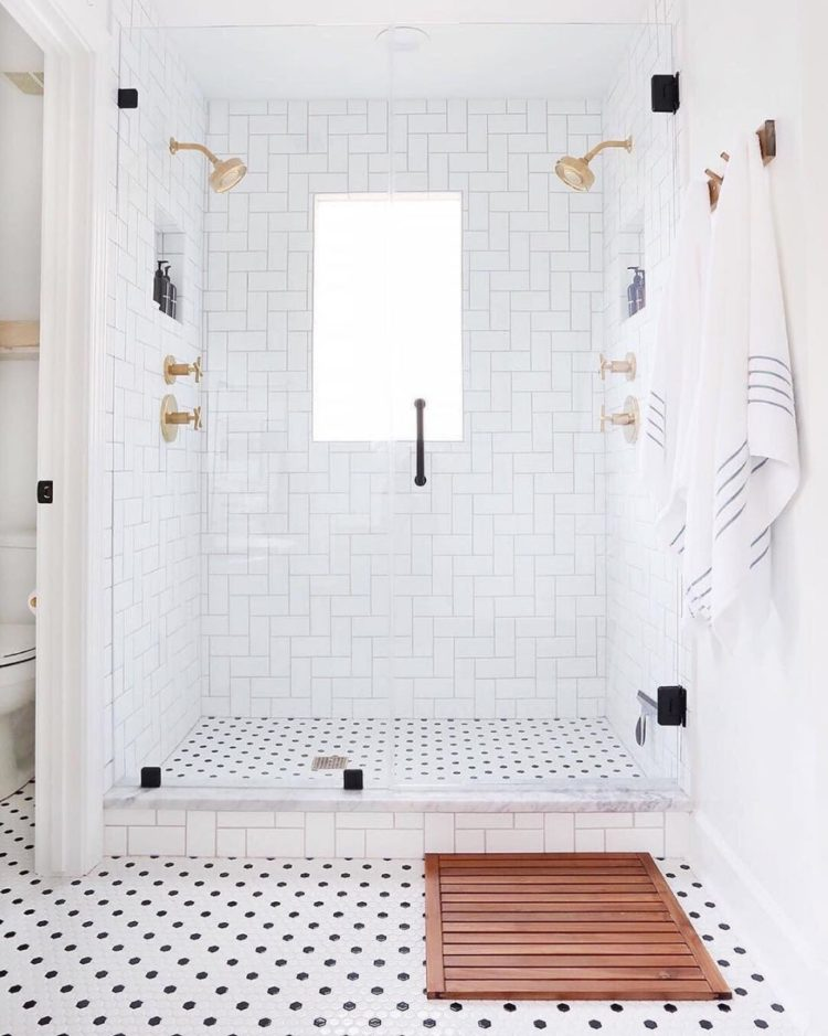 shower tile kit