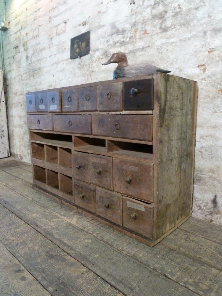 apothecary cabinet wall