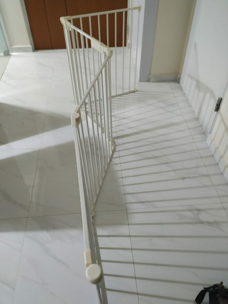 baby gate height