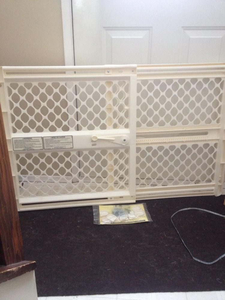 baby gate for deck