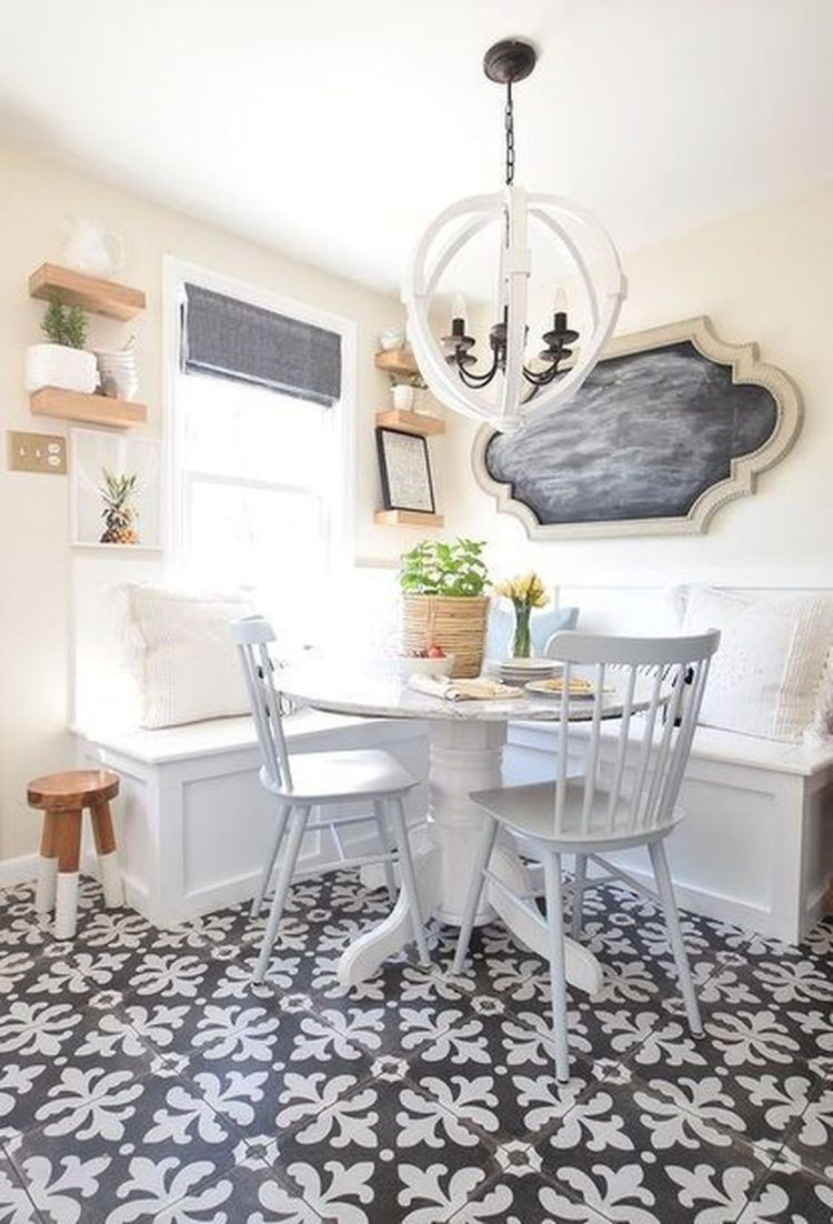 banquette for small kitchen