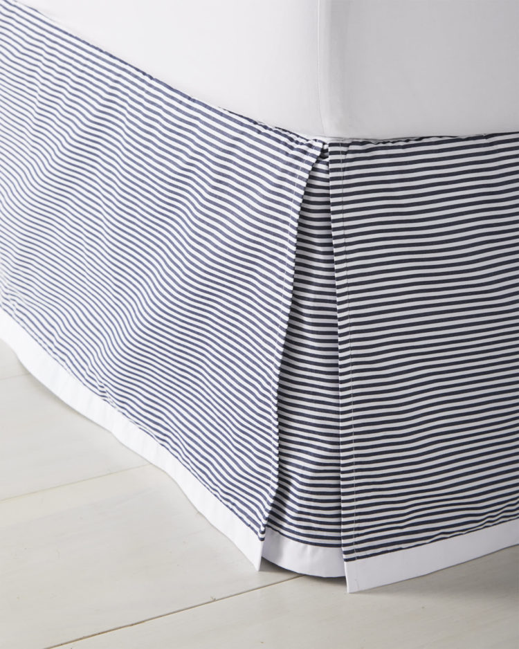 bed skirt box pleat
