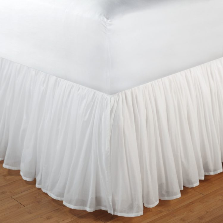 bed skirt clearance