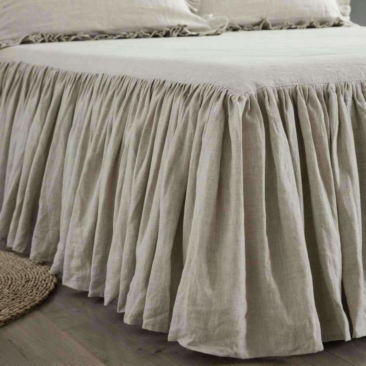 bed skirt drop sizes