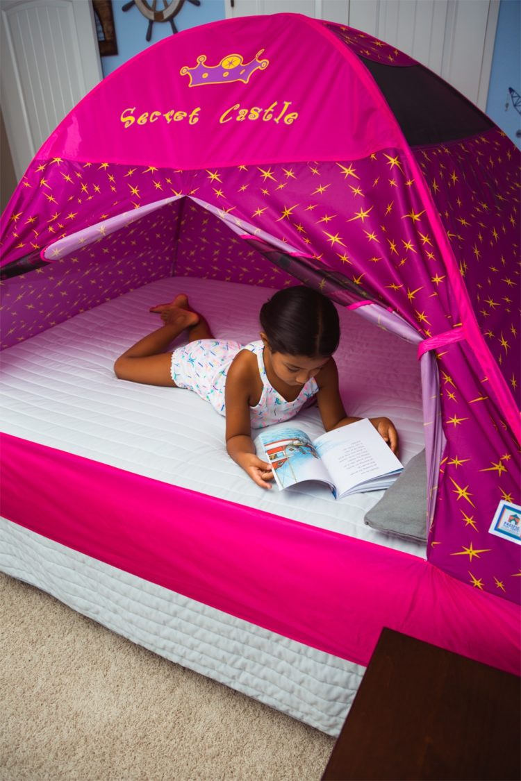 ikea bed tent green
