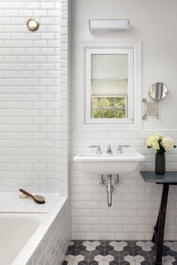 subway tile end cap
