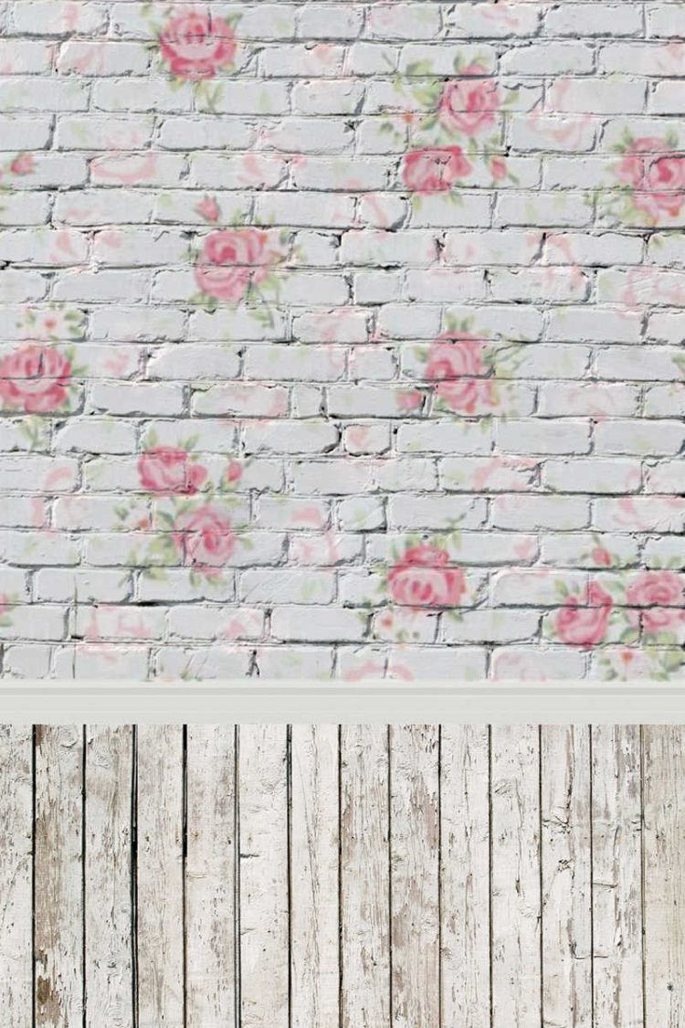 wall brick background vector free