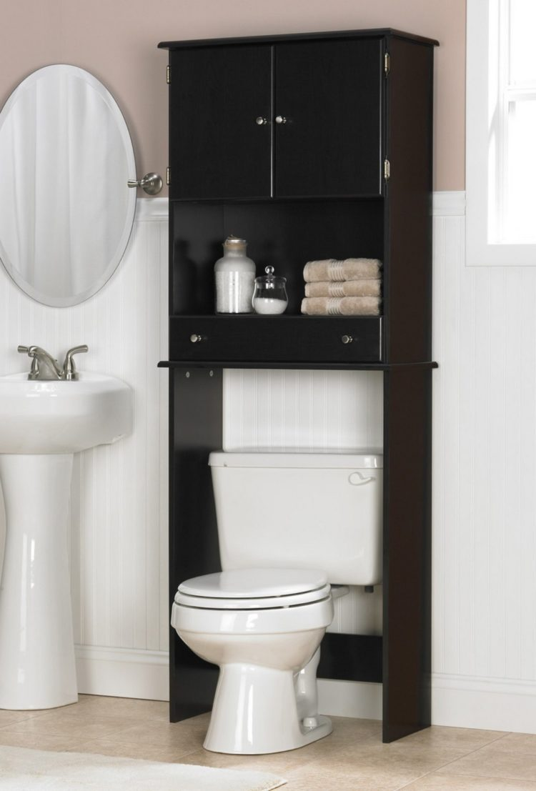 over the toilet storage game