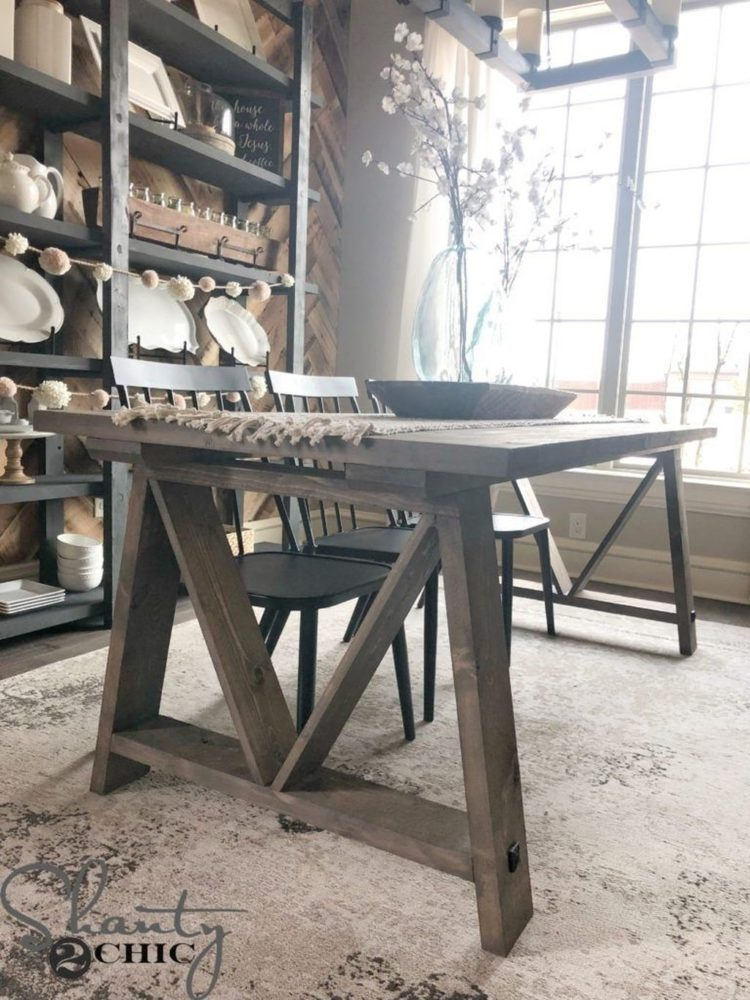 trestle table game