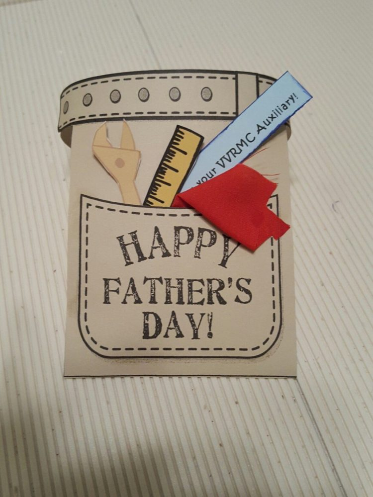 hooked on you father's day craft