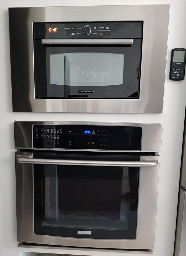 microwave stand for small spaces