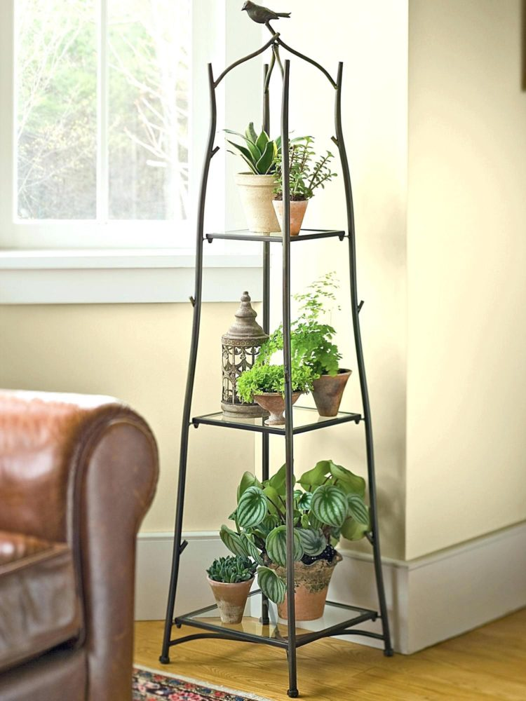 plant stand for deck