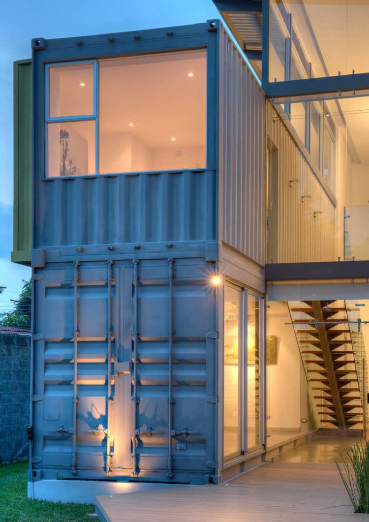 shipping container job site office