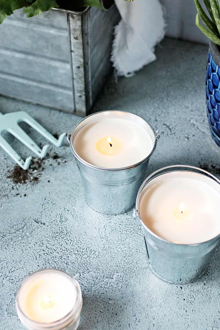 citronella candles mosquitoes indoors