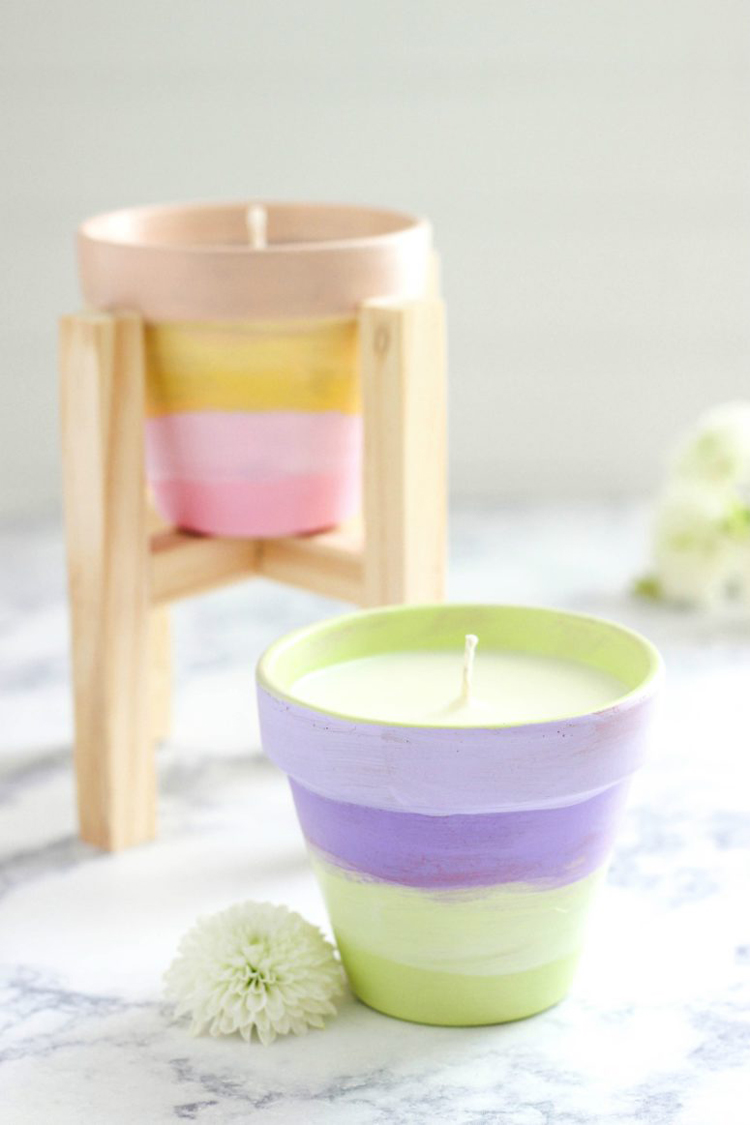 citronella candles yellow jackets