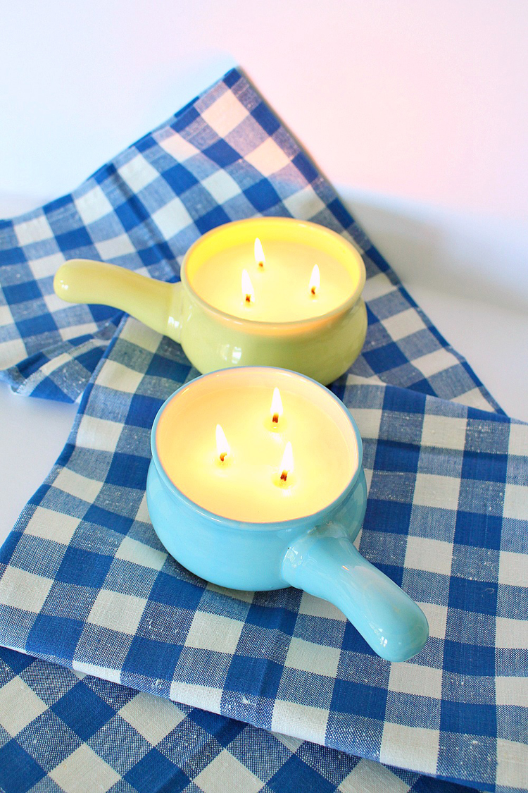 citronella candles how do they work