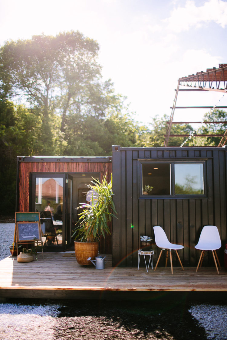 shipping container jacuzzi