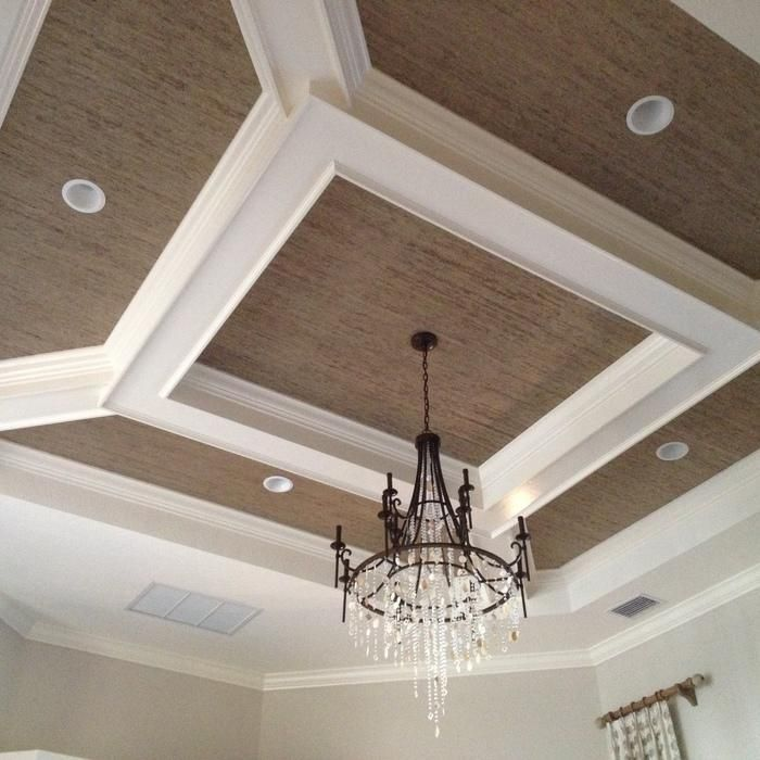 3d coffered ceiling design