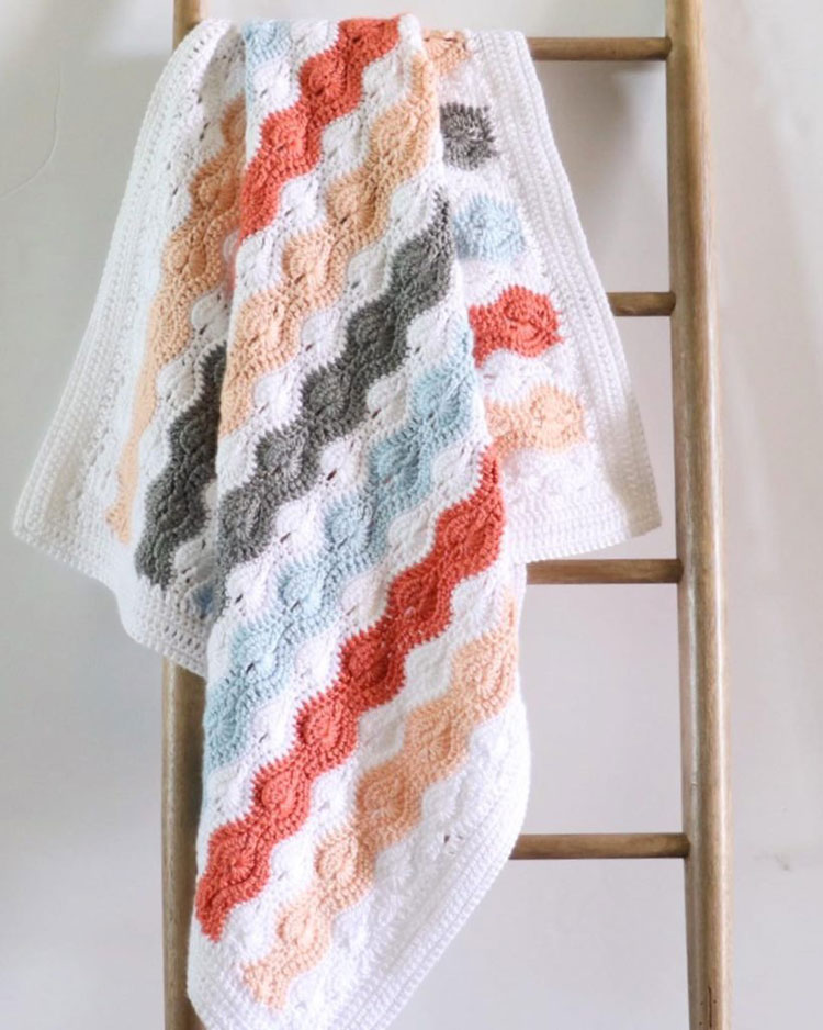 crochet blanket not wide enough