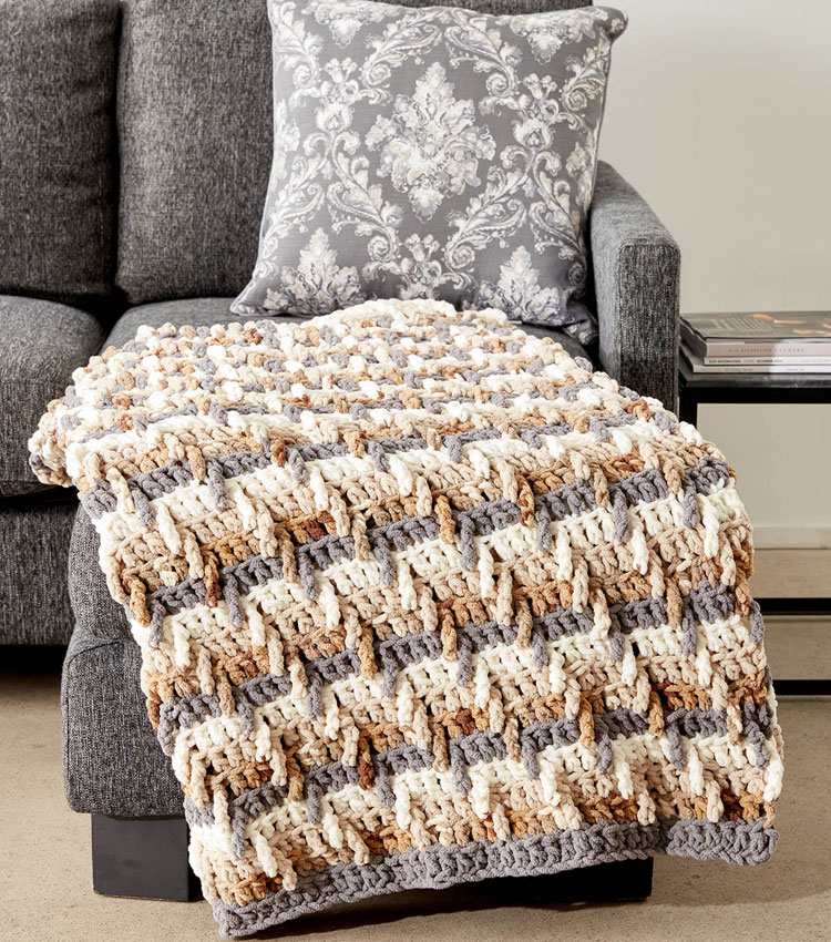 crochet blanket measurements