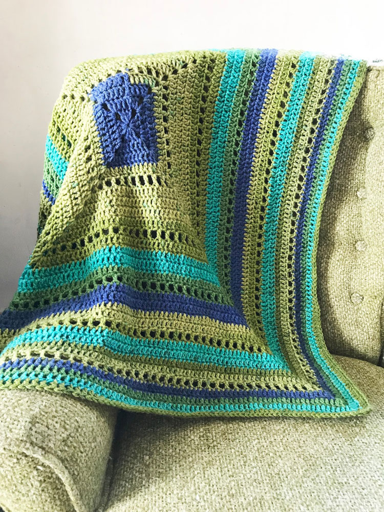 crochet blanket large hook