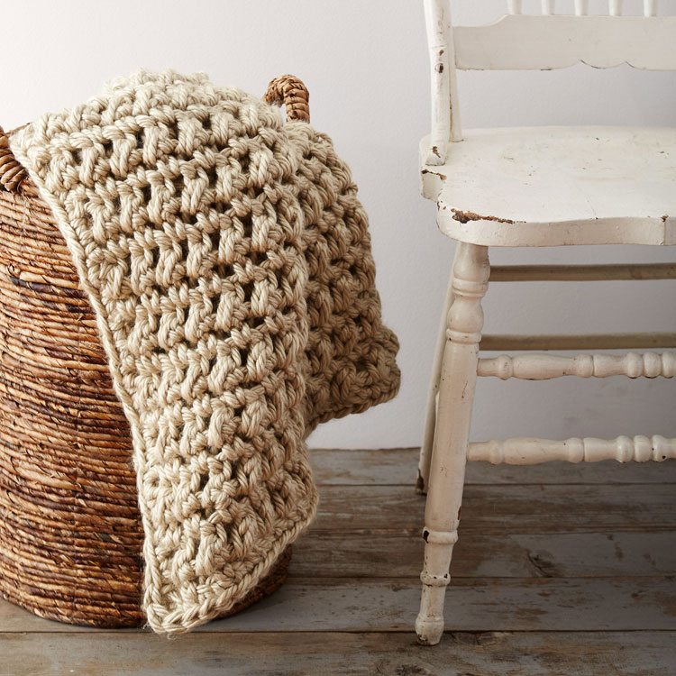h hook crochet blanket