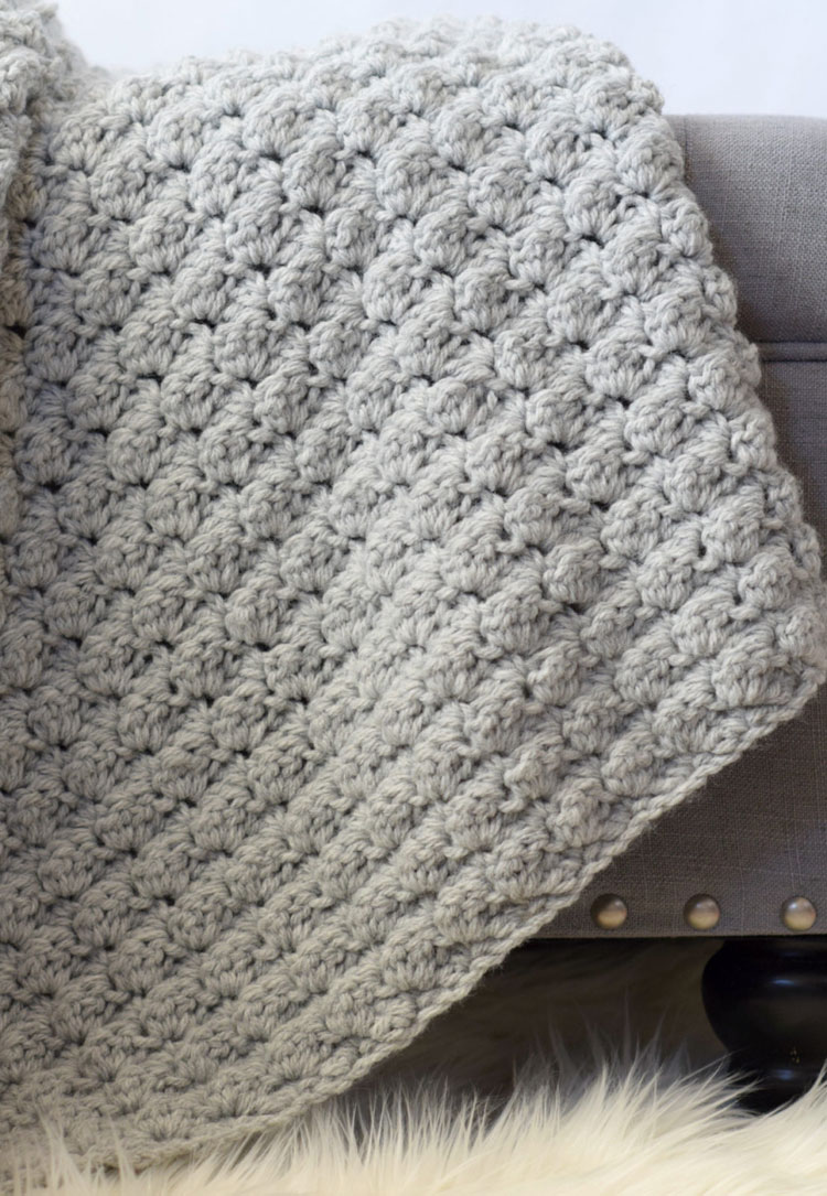 crochet blanket in a day