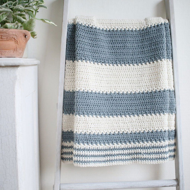 crochet blanket edges not straight